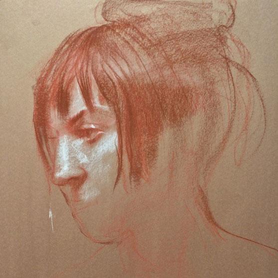 portrait drawing class Vancouver