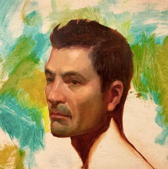 portrait painting workshop course class Vancouver