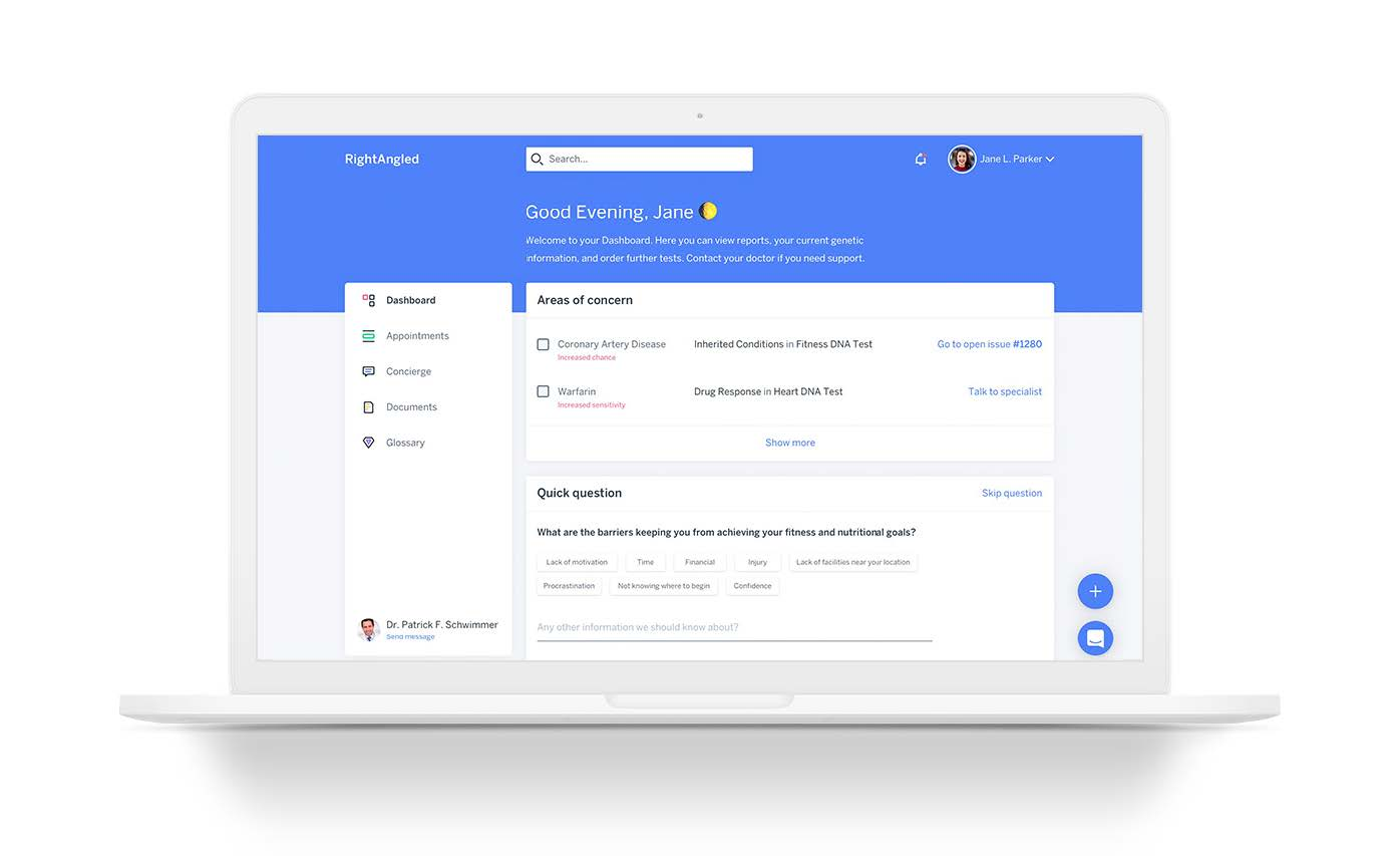 Rightangled Online Platform