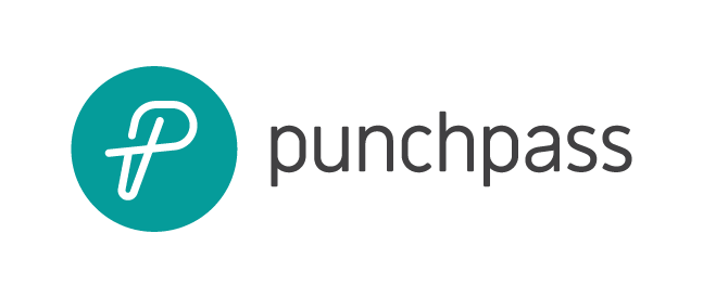 Punchpass's new logo