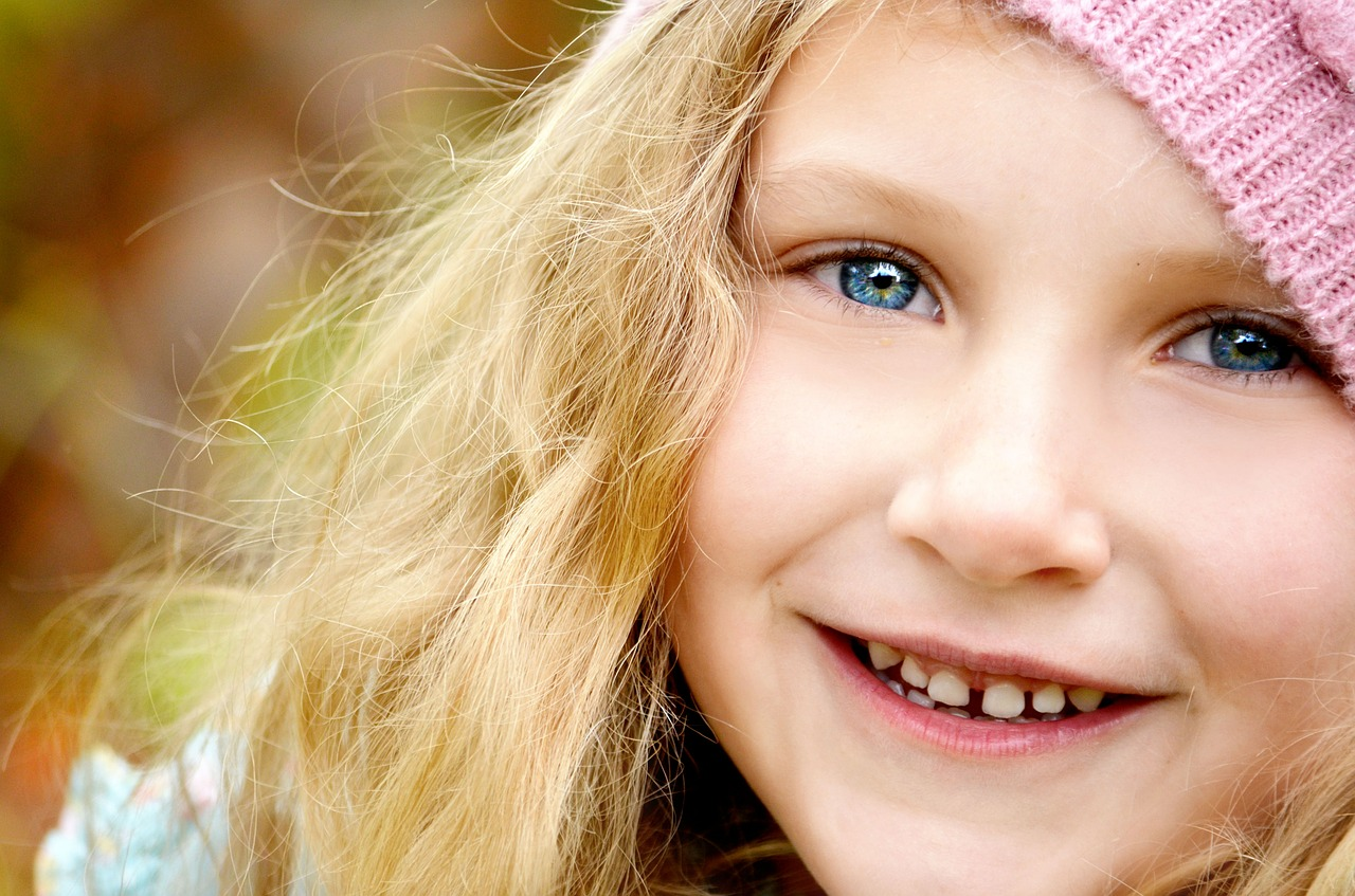 picture of a child smiling
