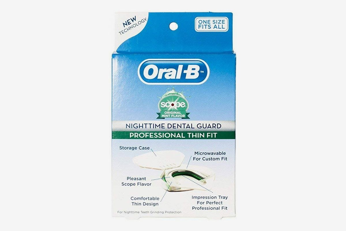 Oral B Nighttime Dental Guard that could be a solution to teeth grinding