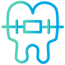 blue issue tooth icon