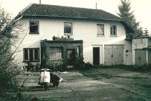 Haus vor dem Umbau zum Tagungshausgelände