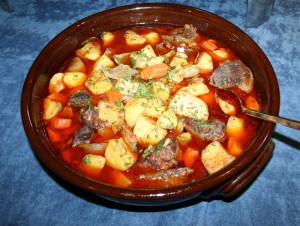 Bansko cooked dish
