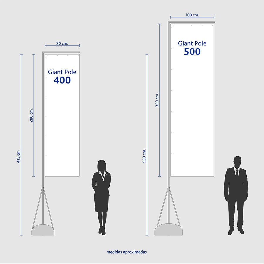 Medidas Giant Pole