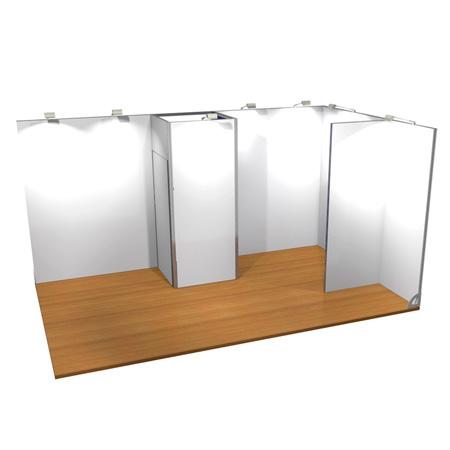 Stand Modular 3x5 vista angulo