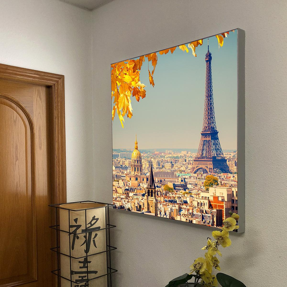 Caja de luz 50 mm con tela