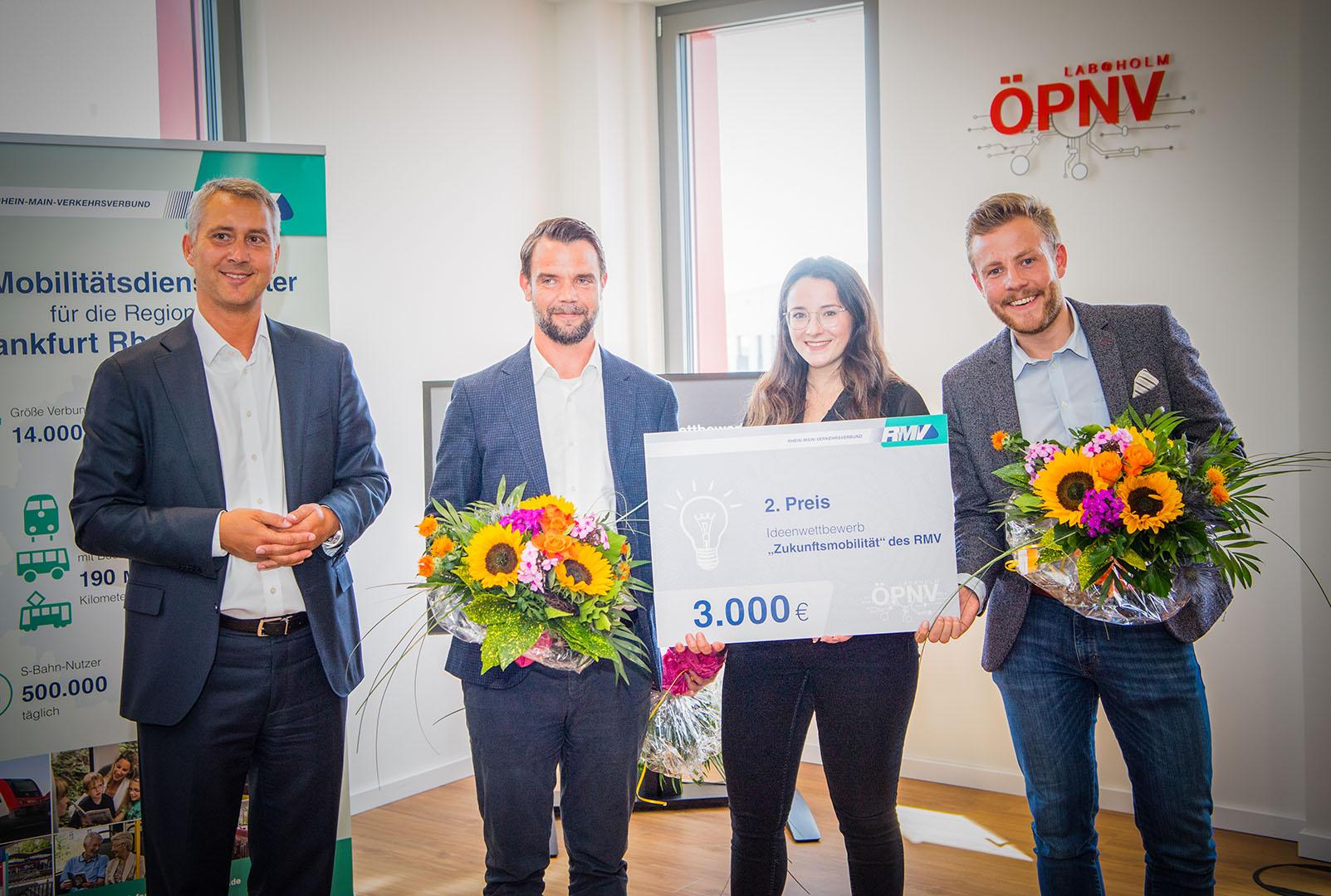 Team Reachlix beim Ideenwettbewerb Zukunftsmobilität