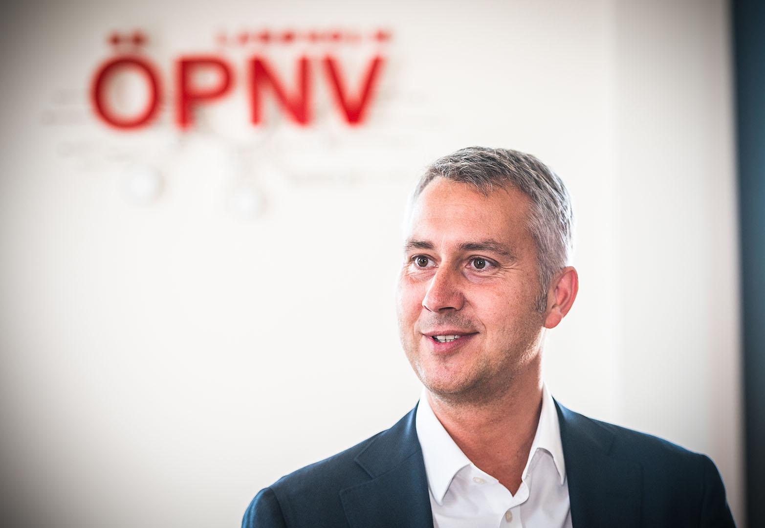 HOLM Geschäftsführer Michael Kadow beim Ideenwettbewerb Zukunftsmobilität