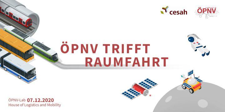 """""""ÖPNV trifft …"""" - Was passiert, wenn Bus & Bahn auf Weltraumsonde & Satellit treffen?"""