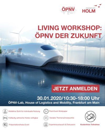 Living Workshop: ÖPNV der Zukunft