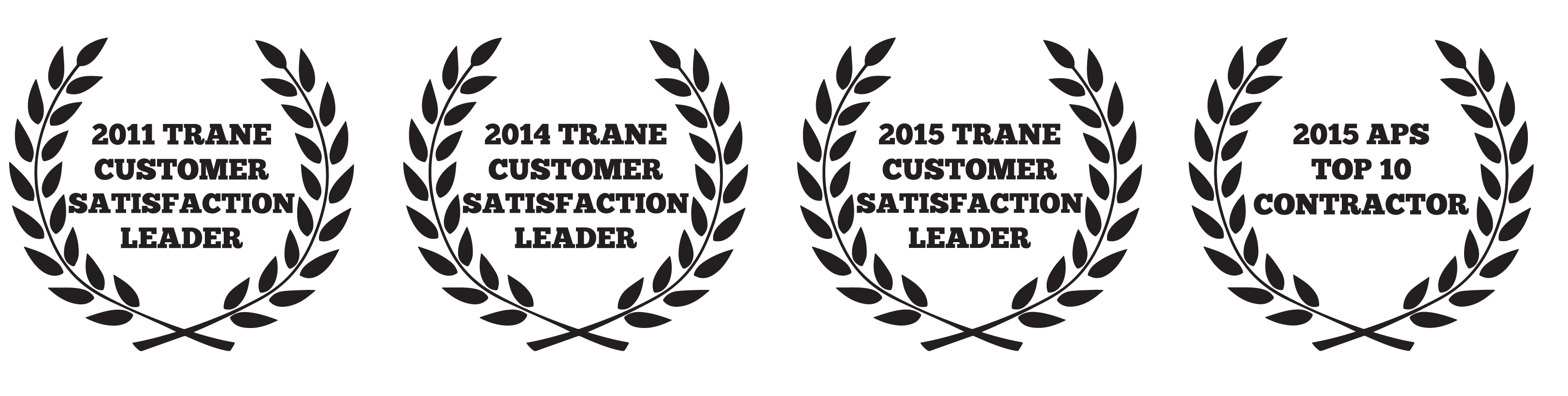 anthony james air conditioning is a proud TRANE customer satisfaction award winner