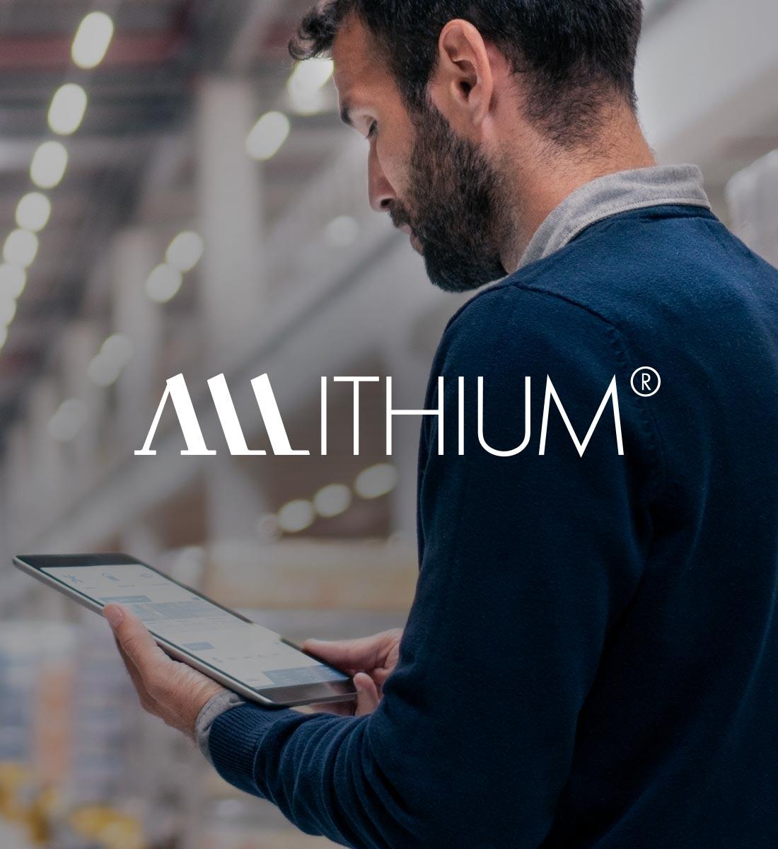 Allithium Logo Design und Corporate Design Maschinenbau