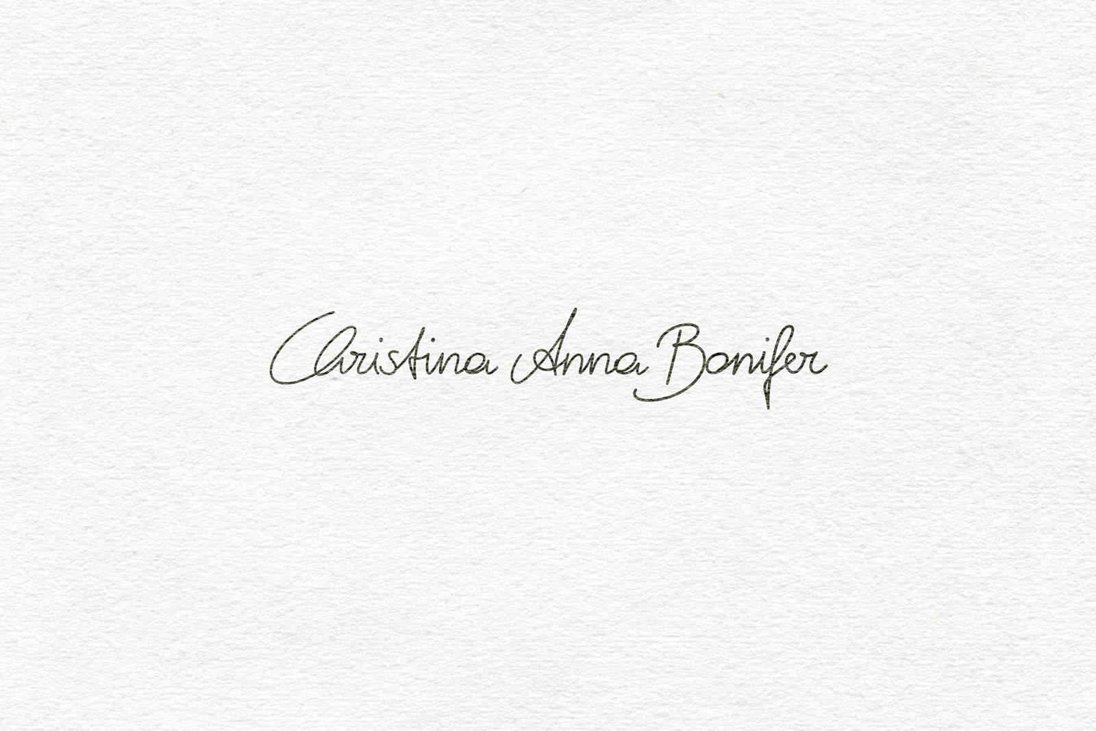 Logo Design Handschrift Unterschrift erstellen lassen