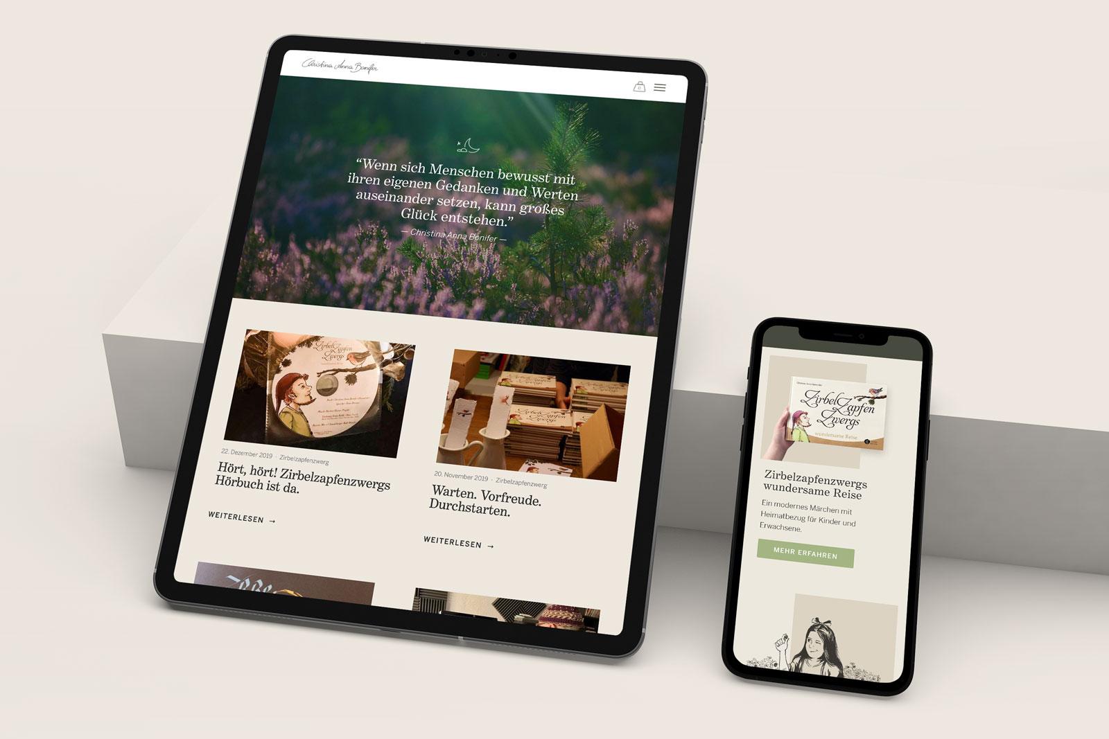 Webdesign gestalten lassen mit Online Shop und Logo Design