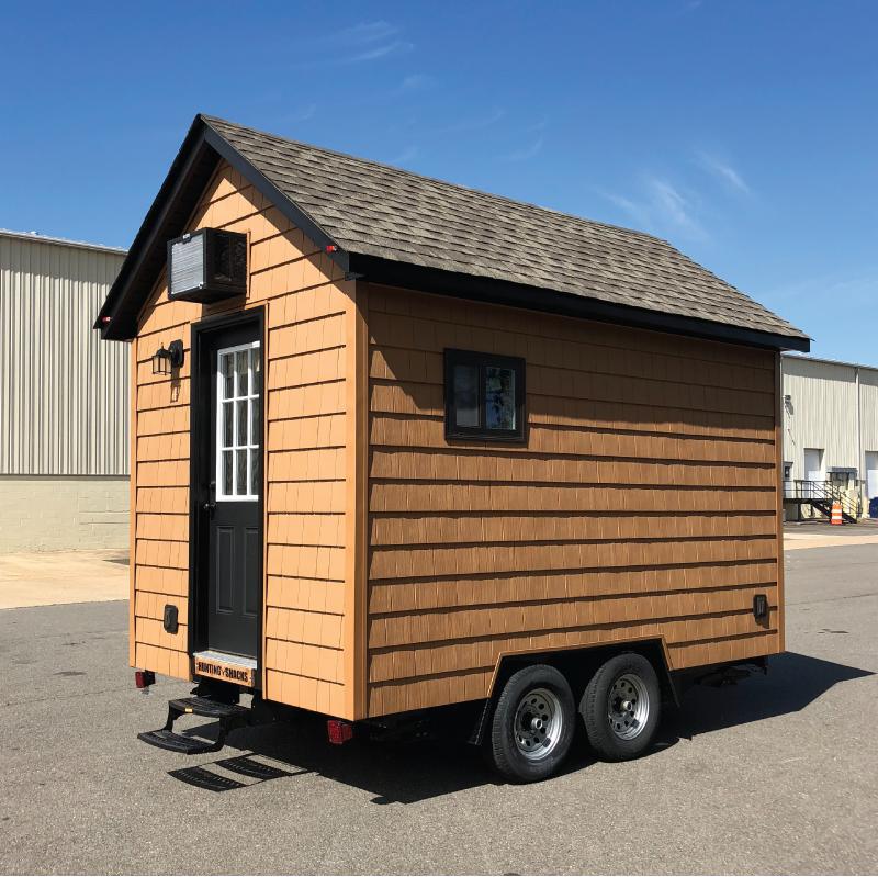 Custom portable tiny houses on wheels for sale.