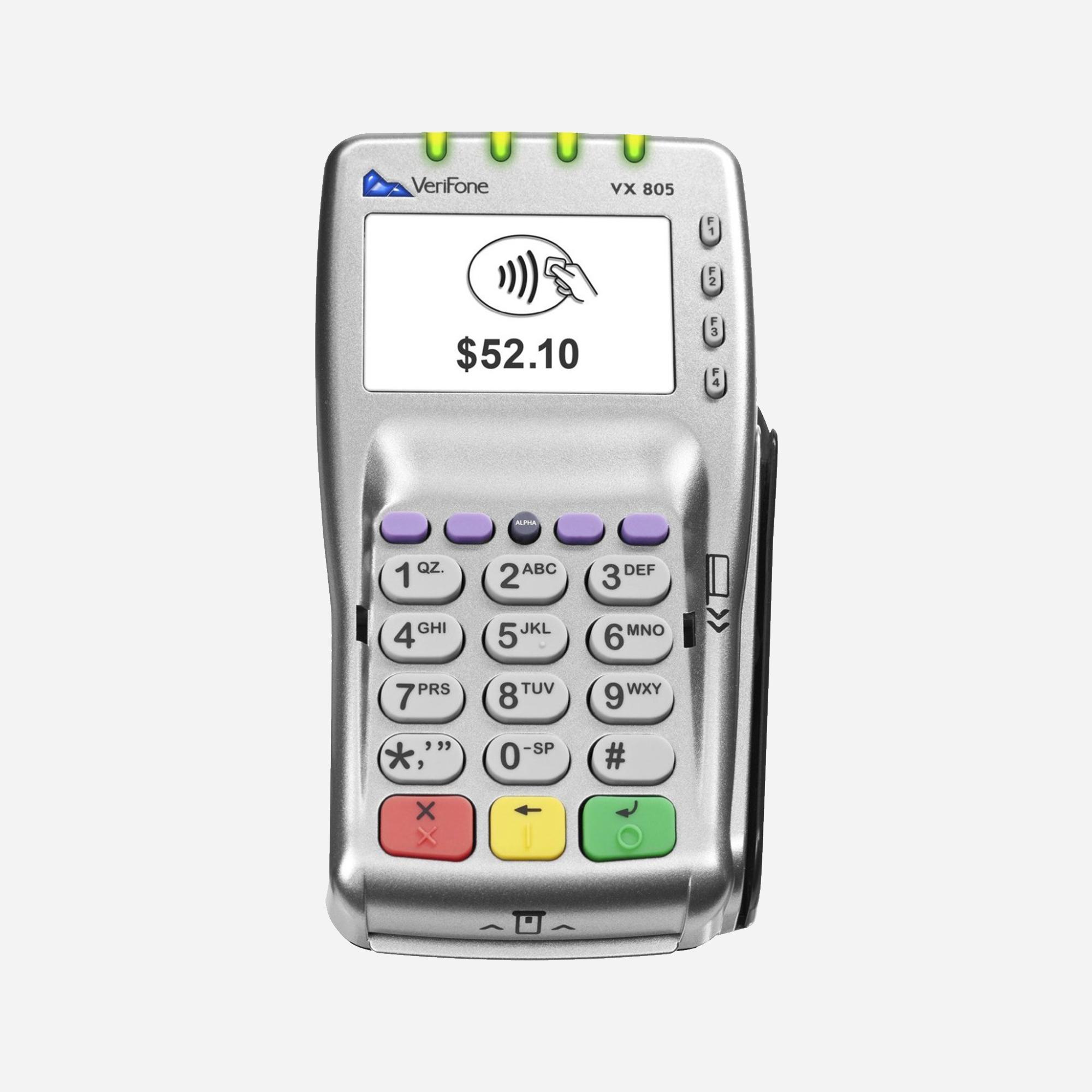 VX805 信用卡密码机