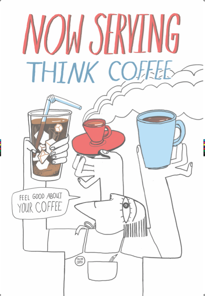 Many KettleSpace Coworking Locations now serve Think Coffee - Join today and enjoy all you can drink coffee