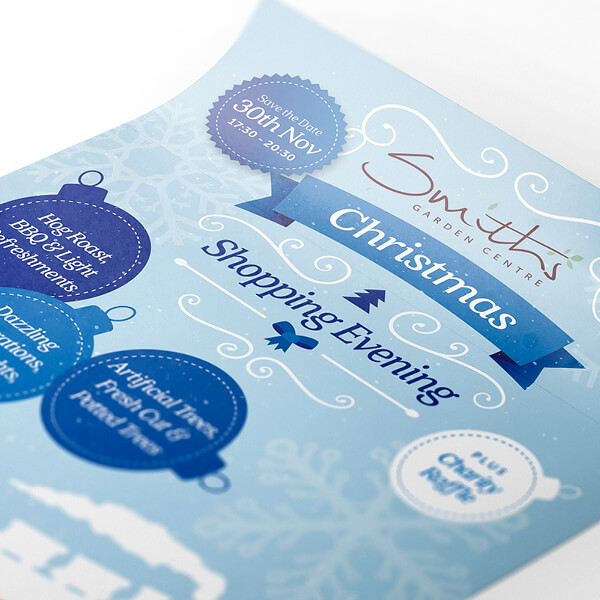 Printed Promotional Leaflet