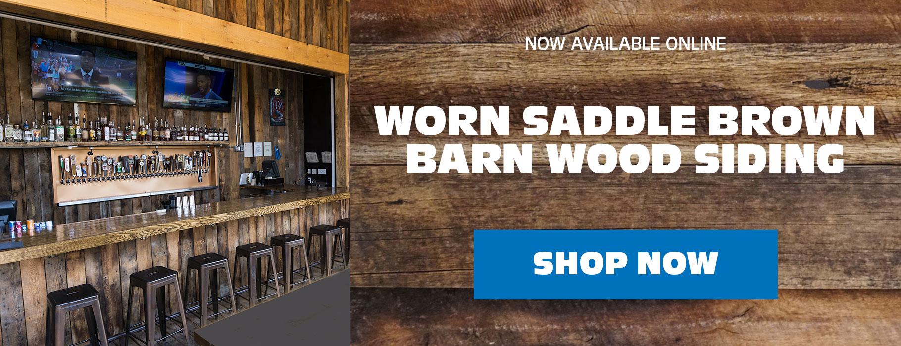 Brown Barn Wood siding