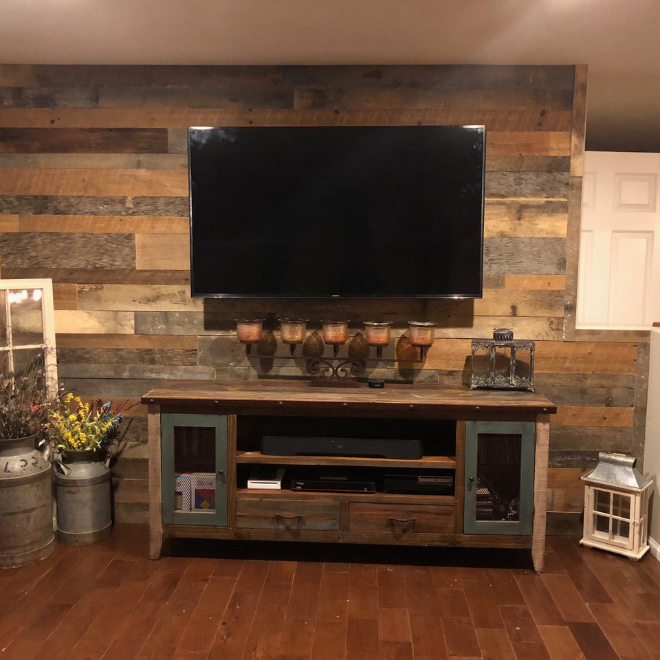Awesome Rustic Accent Walls