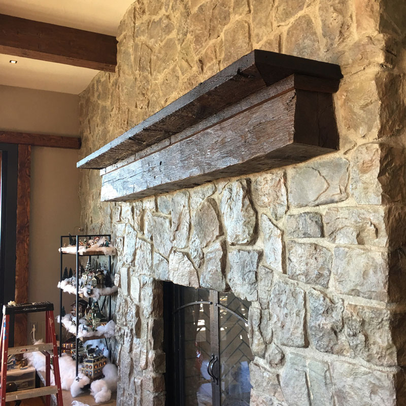 Reclaimed Hand Hewn Antique Beams