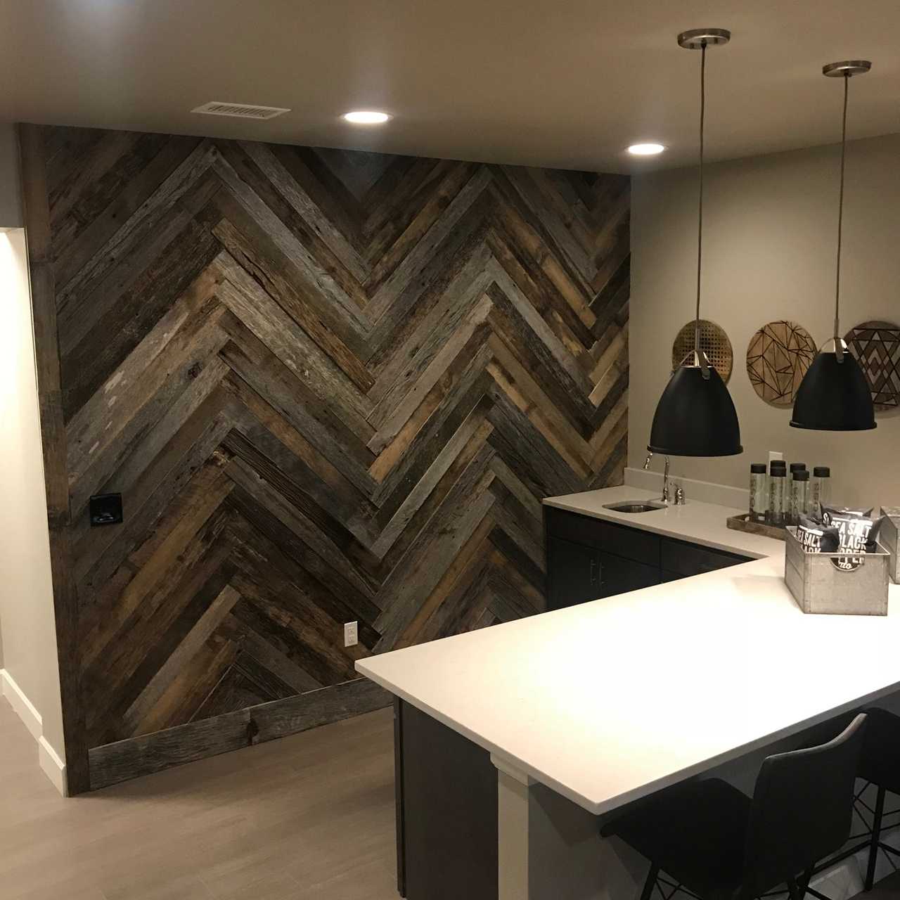 Why White Kitchen Interior Is Still Great For 2019: Antique Barn Siding