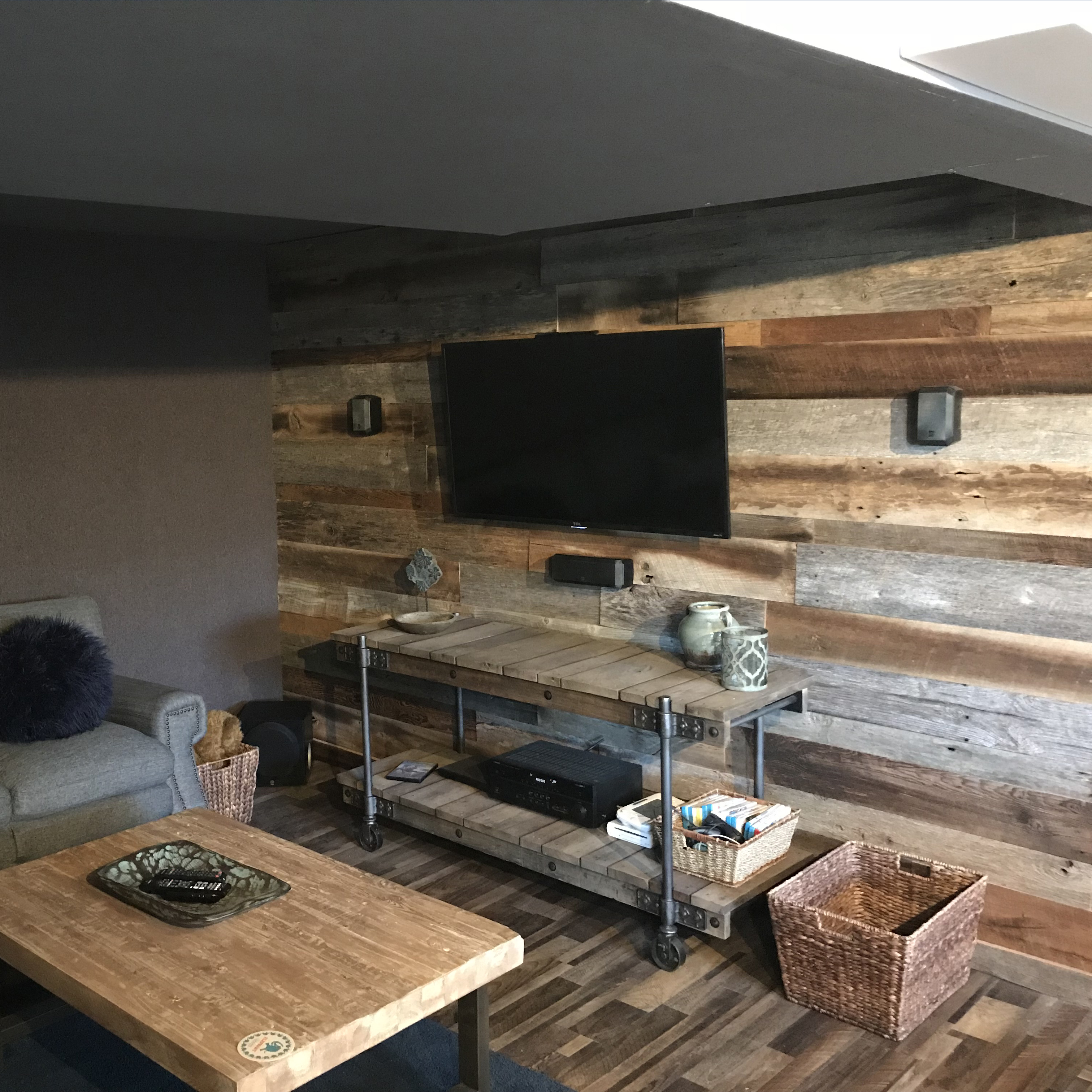 Reclaimed Wood Customer Projects   Front Range Timber