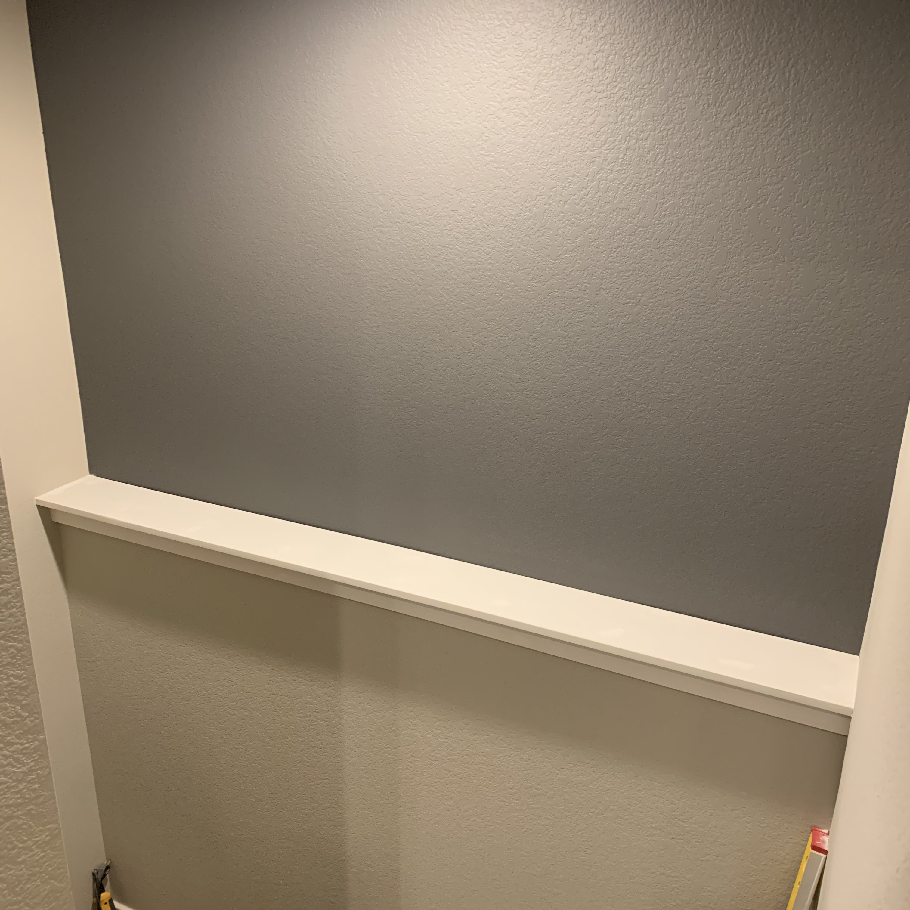 Before And After Photos Of A Beautiful Accent Wall Project