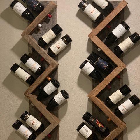 Amazing Photos Of A Diy Wine Rack