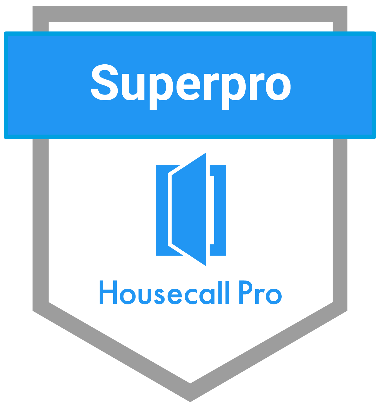 We've been awarded the Housecall Pro Superpro award