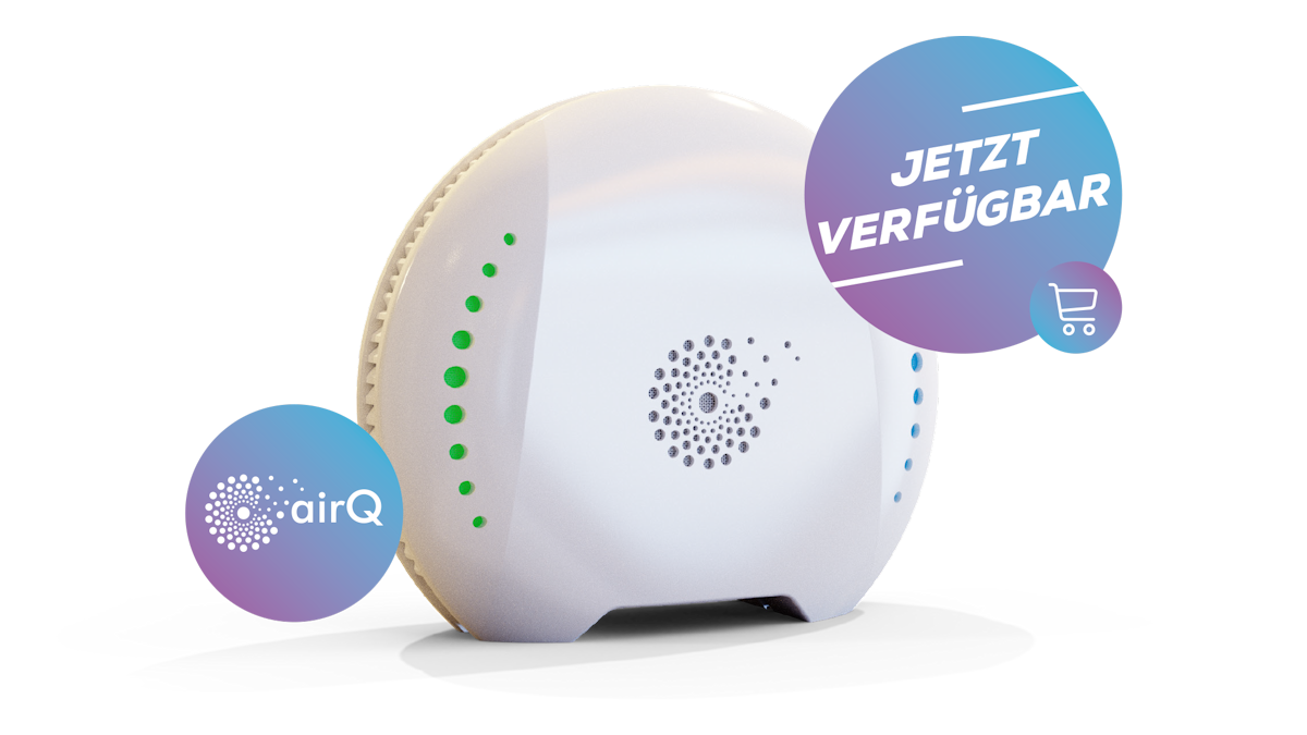 air-Q Luftanalysator - Jetzt verfügbar
