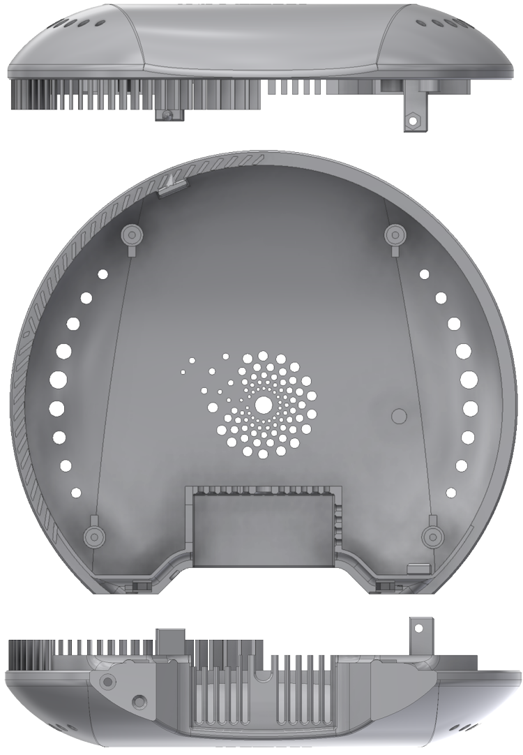 air-Q Luftqualität Messgerät Gehäusekonstruktion