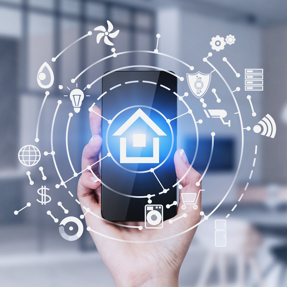 Smart Home mit smartem Luftsensor air-Q