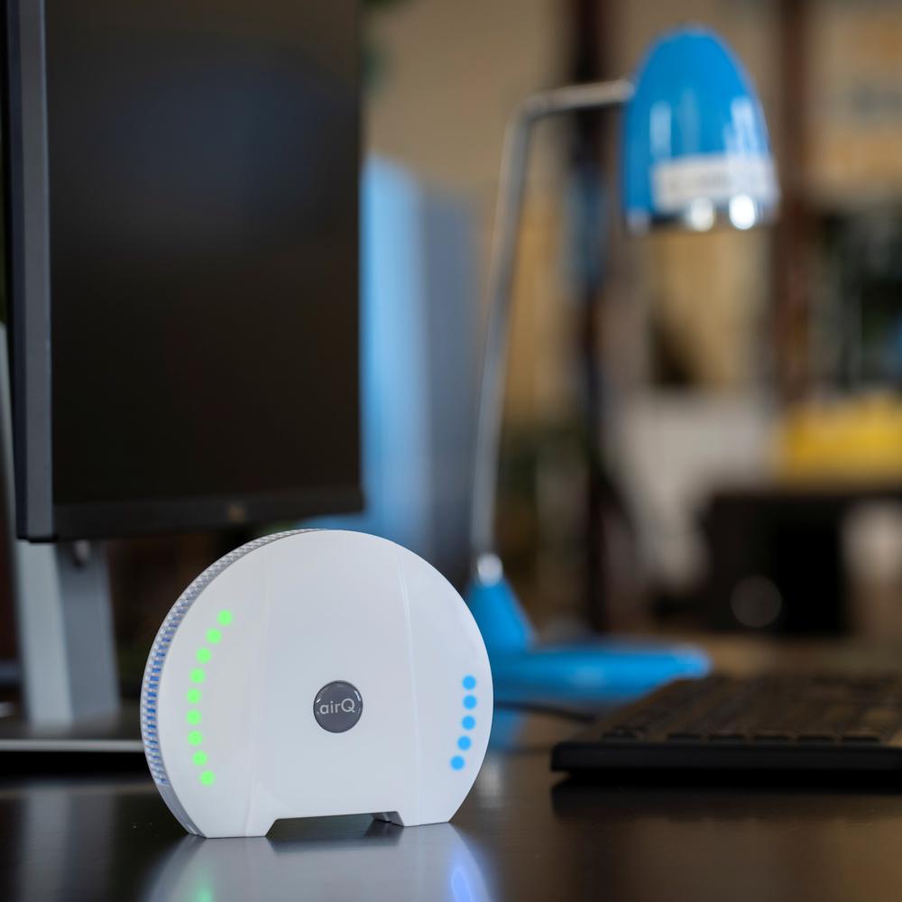 air-Q App Luftqualität messen Gesundheit Leistungsfähigkeit