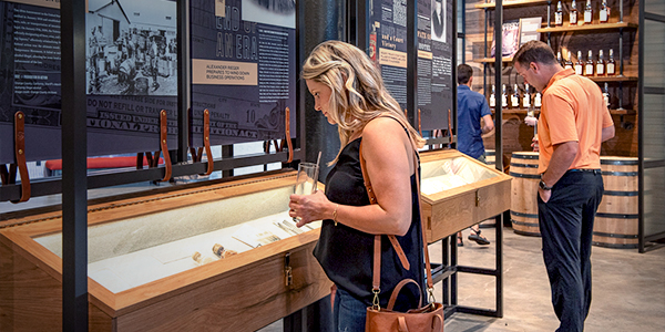 Image of the Historical Exhibit at J. Rieger & Co.