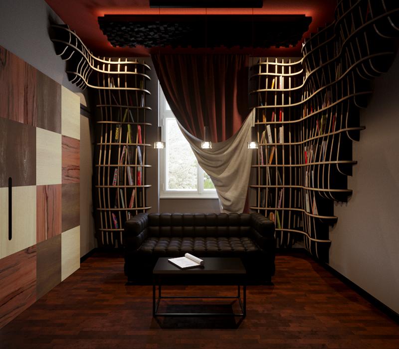 3D vizualizace interiéru