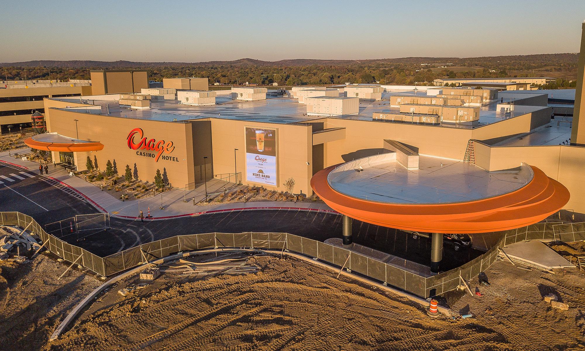 Osage Casino & Hotel Tulsa Exterior