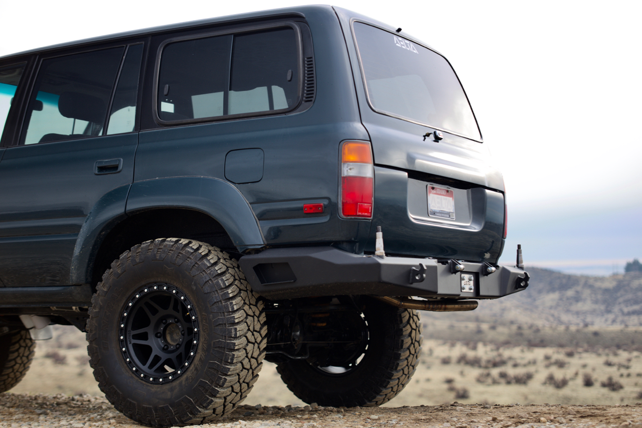 Delta Vehicle Systems - FJ80/FZJ80 Modular Rear Bumper
