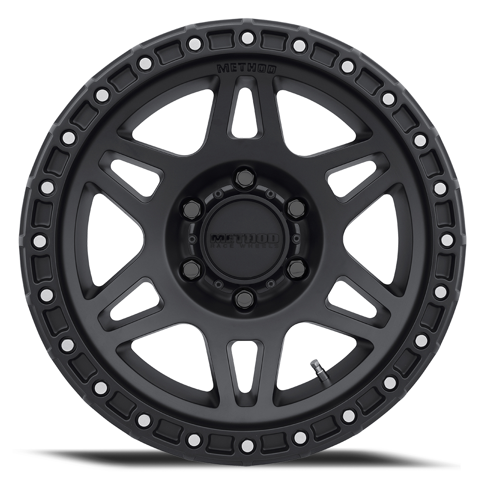 method 312 race wheel in black front
