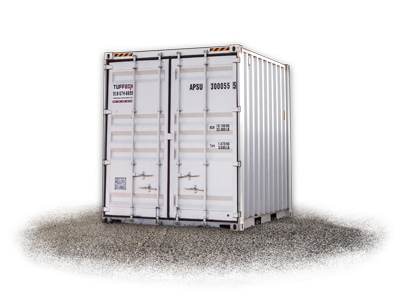 20-foot used shipping storage container