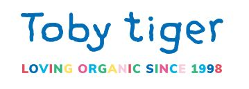 Toby Tiger Logo - Loving Organic Since 1998