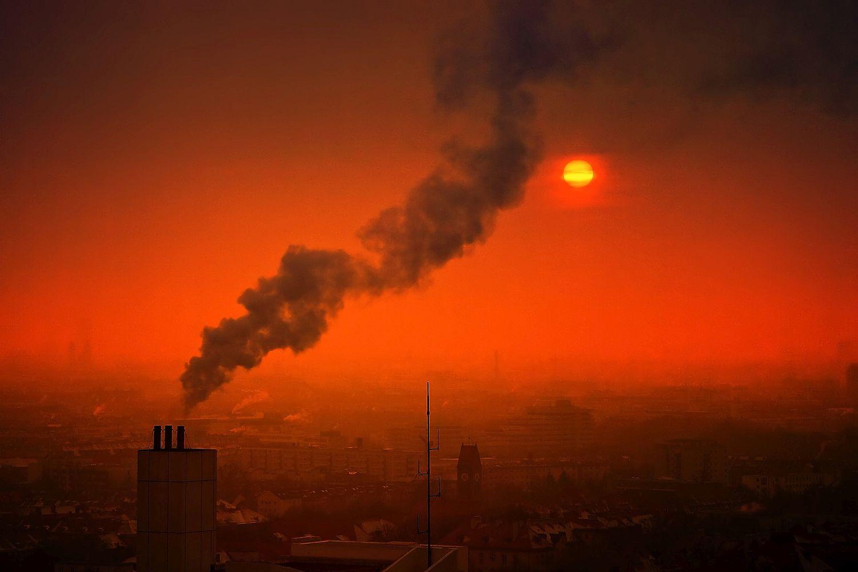Luftverschmutzung in Europa, etwa durch Feinstaub von Kleinfeuerungsanlagen