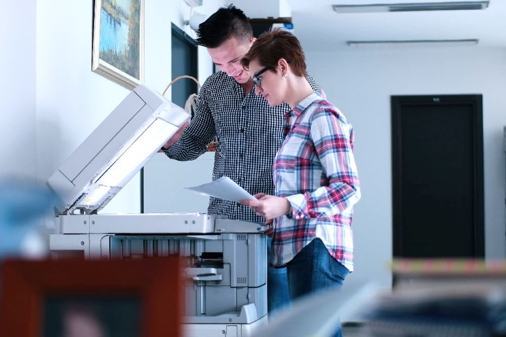 Laserdrucker Kopierer Luftqualität nano-Control