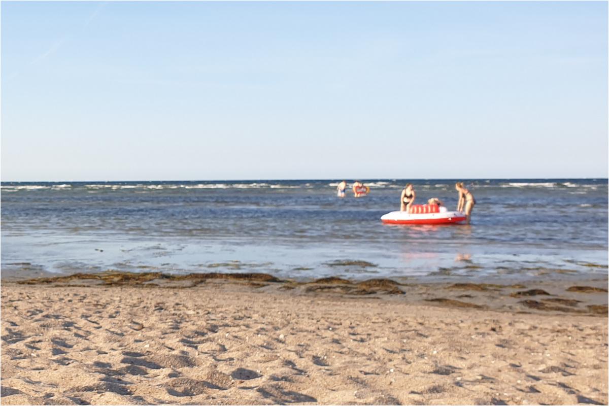 Luftqualität an der Ostsee - Feinstaub air-Q Messwerte in Brook