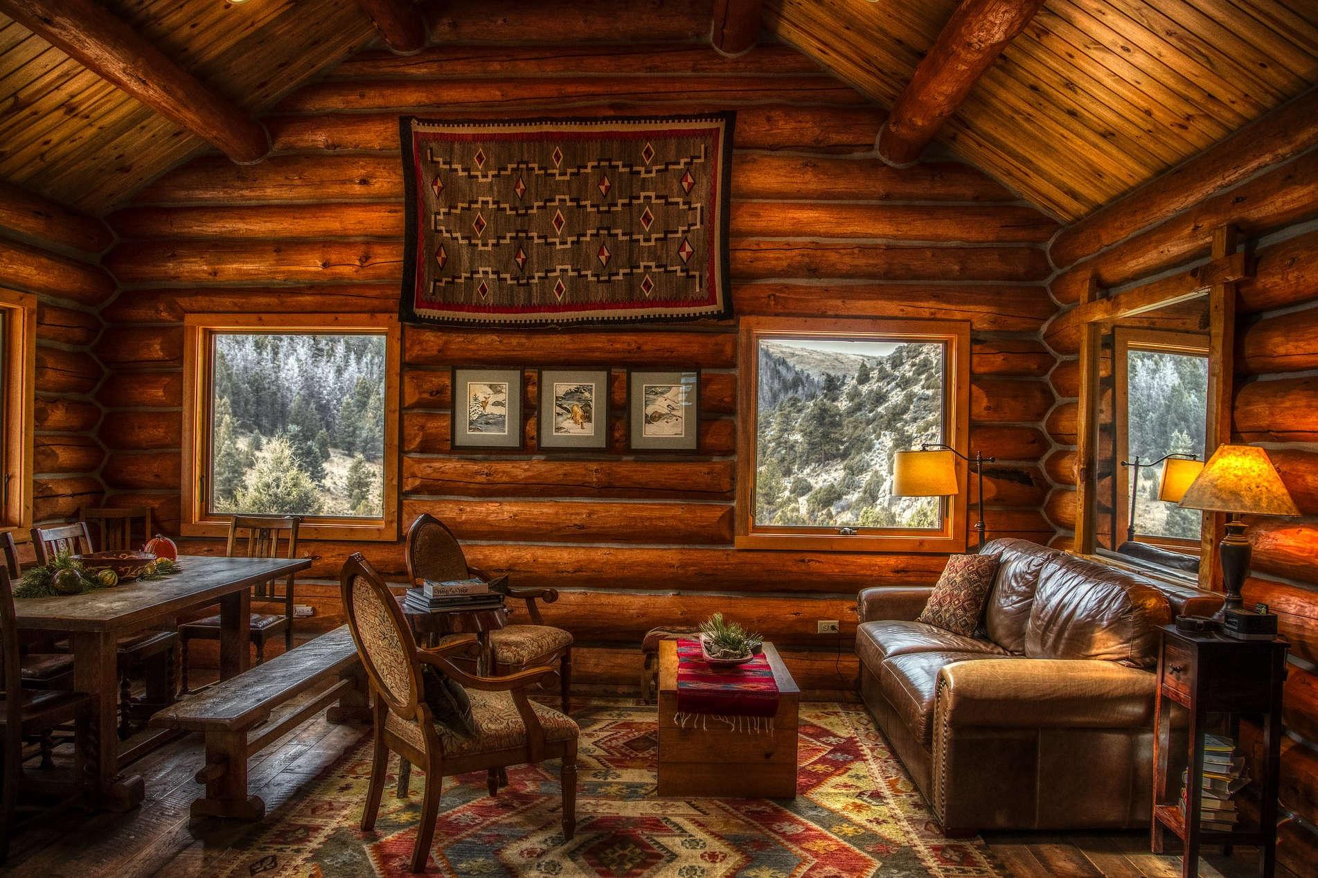 VOC als Luftbestandteil durch Holzverkleidung und Holzmöbel im Innenraum