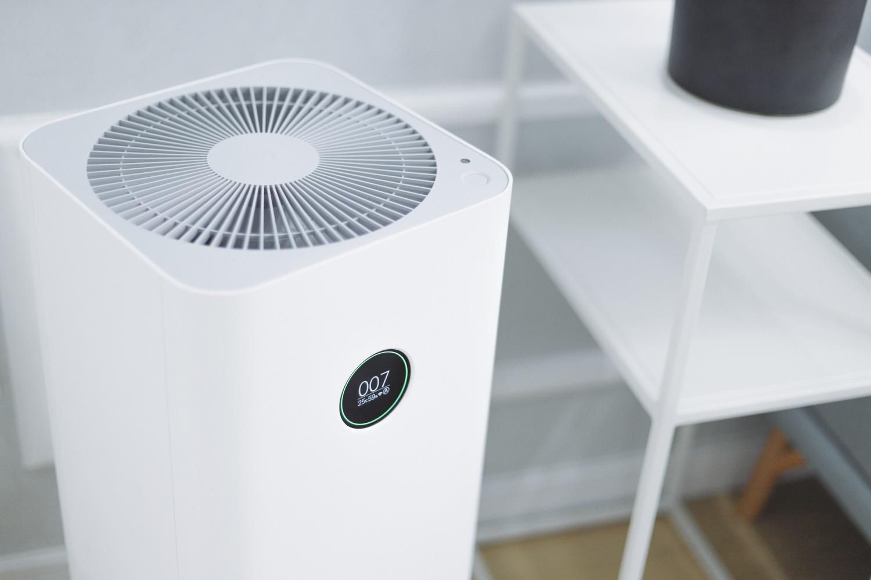 Mobile Klimaanlage im Büro