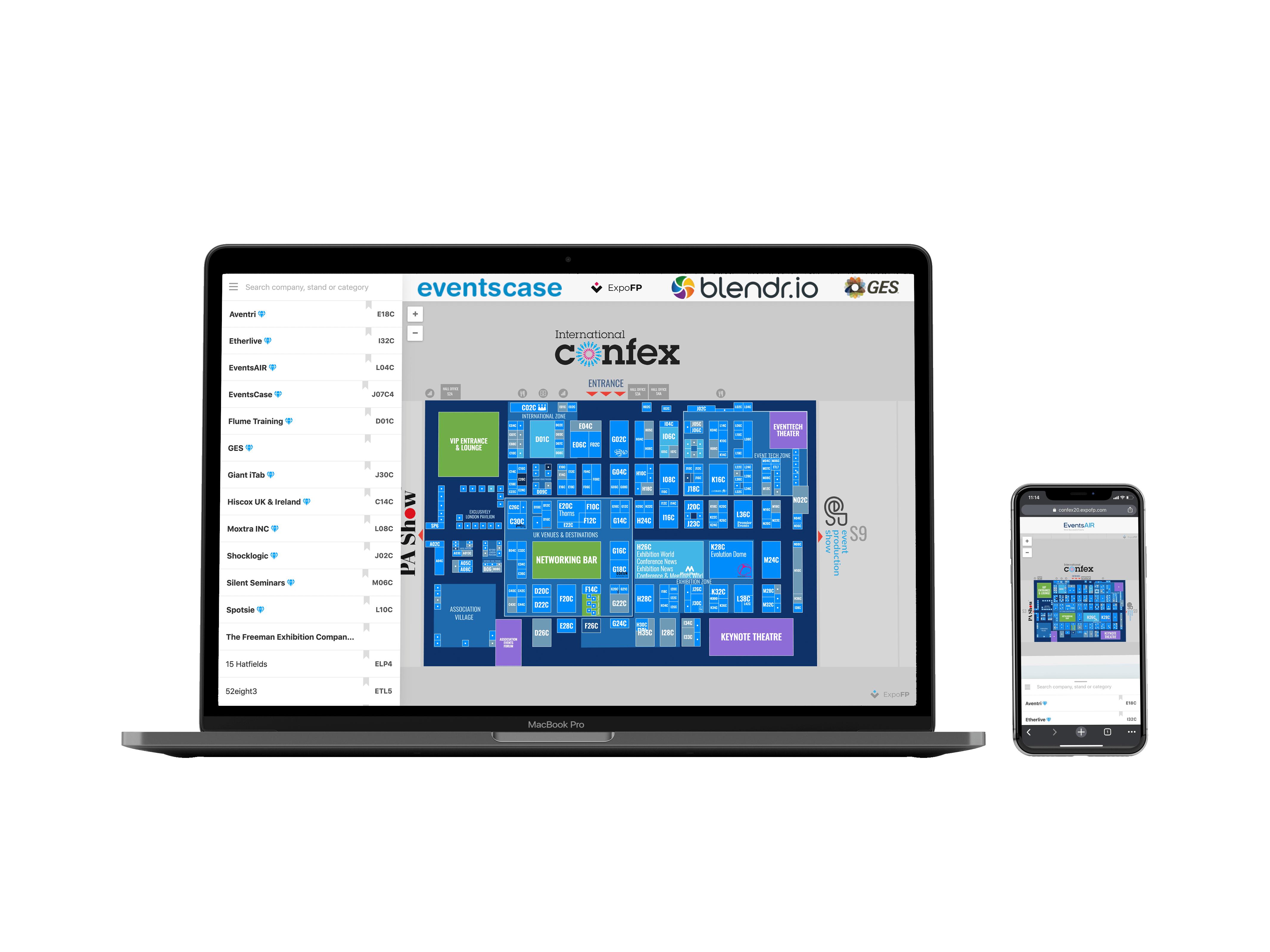 Wendigo Floorplan on a Desktop Screen