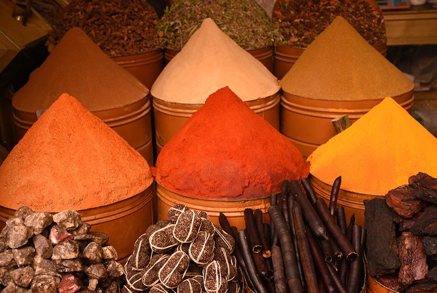 marocain spices, Morocco